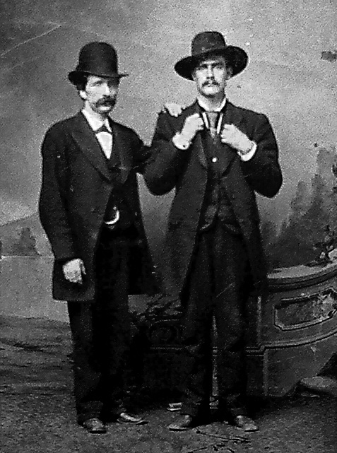 J Frank Dalton and his brother S. Frank James / RJ Pastore Collection