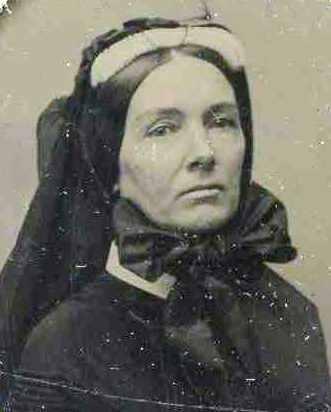 Zerelda James in Mourning Attire